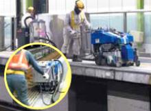 鉄道・駅プラットホームの改修